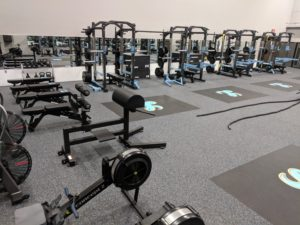 rubber floors weight room