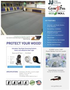 eco roll gym floor cover