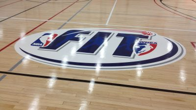 nba basketball court flooring company