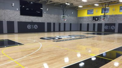 gym floor sanding refinishing