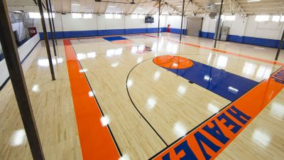 gym floor sanding refinishing company